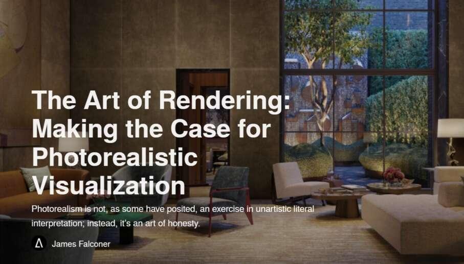 The Art of Rendering