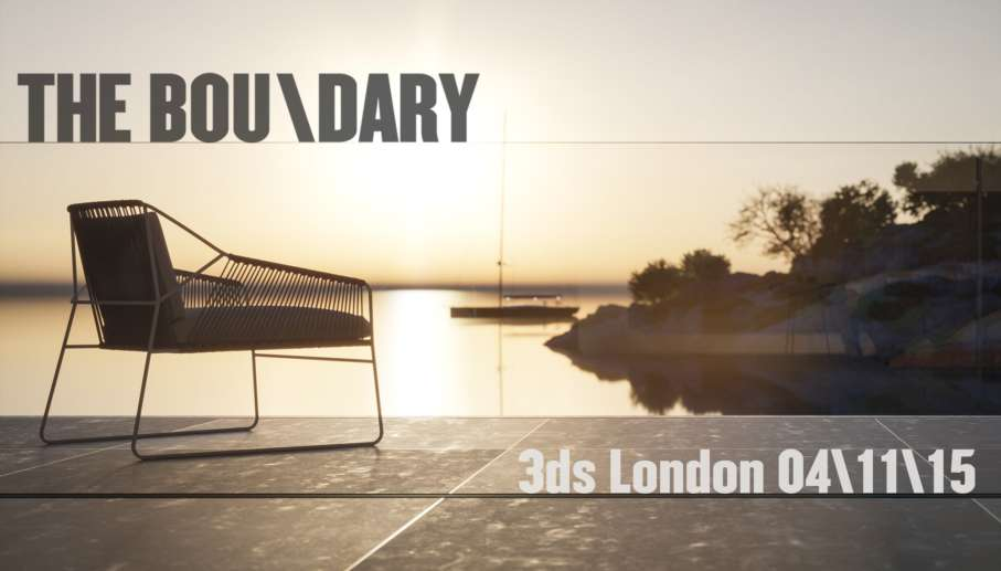The Boundary @ 3ds London 4th Nov 2015