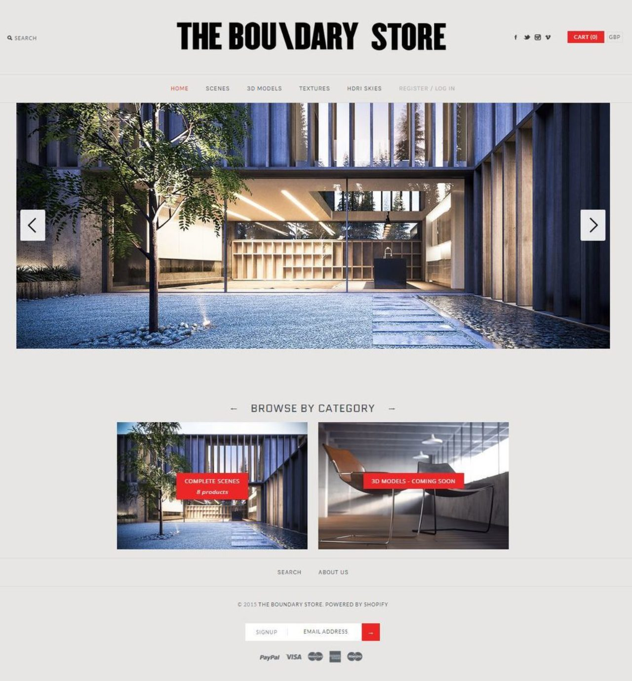 The Boundary Store