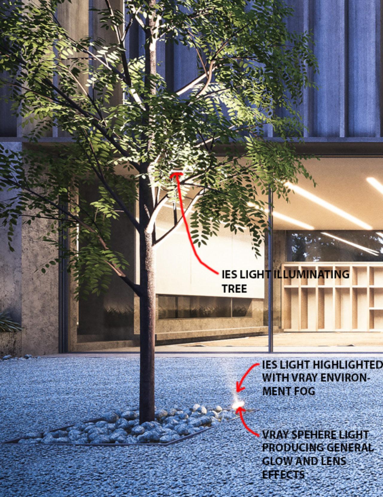 Carey House Tutorial 07 - Lighting Internal
